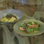 Ken's steamed salmon with black beans and dumplings recipe on Saturday Kitchen