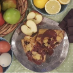 Ainsley's Caribbean pancakes recipe on Lorraine