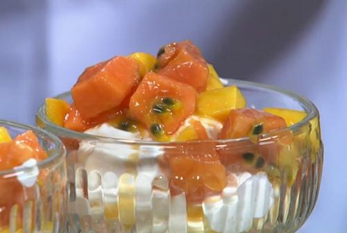... mango, papaya and passion fruit Eton mess on Royal Recipes | TV Foods