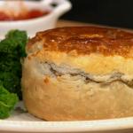 Simon Rimmer mince and potato pie recipe on Sunday Brunch