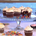 Juliet Sears pinata cupcakes recipe on This Morning