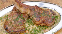 James Martin served up pan fried veal with cabbage and beans cassoulet on James Martin's French Adventure. The ingredients include: oil, veal steaks, salt, black pepper, shallots, garlic, butter, beans,...