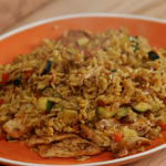 Mary Berry Panang chicken stir fried rice recipe on Mary Berry Everyday