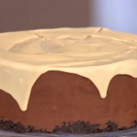 Phil Vickery chocolate cheesecake with Baileys cream recipe for St Patrick's Day on This Morning