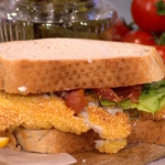 John Torode homemade fish fingers with peas and tartare sauce recipe on This Morning