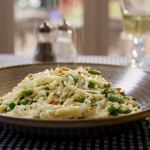 Mary Berry orzo pasta with broad beans recipe on Mary Berry Everyday