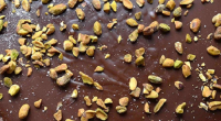 Yasmin Khan showcased a chocolate and pistachio torte to mark the Persian New year on Sunday Brunch. The ingredients are: 120g shelled unsalted pistachios, 175g dark chocolate (70%), broken into...