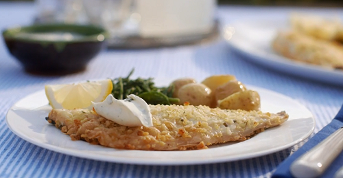 Mary Berry Tarragon Crusted Sea Bass Recipe The Talent Zone