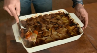 Bill Smithson served up a panackelty dish that is popular in County Durham on today's episode of Countryfile. The ingredients include: bacon, onions, carrots and potatoes.