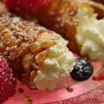 Simon Rimmer Brandy Snaps With Mascarpone Cream recipe on Sunday Brunch