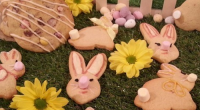 James Tanner served up Easter egg cookies on today's episode of Lorraine. The ingredients are: 150g unsalted butter, softened, 50g caster sugar, 50g soft brown sugar, 1 egg, ½ tsp...