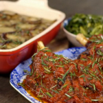 Matt Tebbutt shoulder of lamb with spring greens and boulangere potatoes recipe on  Save Money: Good Food