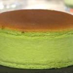 Rosie Birkett Matcha Cheesecake on Sunday Brunch