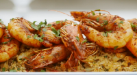 Mary Berry served up marinated harissa prawns with spiced rice on Mary Berry Everyday. The recipe is available in Mary's book titled: Mary Berry Everyday – available at Amazon now....