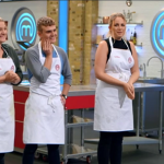 Adam from Leeds, Giovanna and Lyndsay from St Albans made it the Masterchef 2017 quarter final