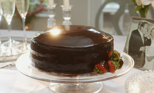 Mary Berry Chocolate Reflection Cake Recipe