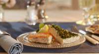 Mary Berry served up herbed smoked salmon with horseradish pate on Mary Berry Everyday. The recipe is available in Mary's book titled: Mary Berry Everyday – available at Amazon now....