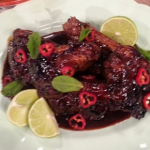 Levi Roots home coming lamb recipe on Lorraine