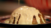 Tony Singh served up treacle pudding with nutmeg, lemon, lime and custard on Saturday Kitchen. The ingredients are: 85g butter, well softened, plus extra for greasing, 115g caster sugar, 2...