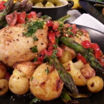 John Whaite Spring chicken recipe on Lorraine
