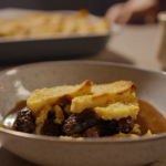 Simon Rimmer bread and butter pudding with Earl Grey tea recipe on Eat the Week with Iceland
