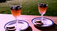Si and Dave served up cider jelly with blackberries on Saturday kitchen. The ingredients are: 100ml water, 100g caster sugar, 20 fresh blackberries, rinsed, 5 sheets leaf gelatine and 500ml...