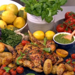 Dean's lemon and thyme chicken recipe on Lorraine