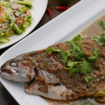 Thomasina Miers Thai Sea Trout Curry with Green Noodle Salad recipe on Sunday Brunch