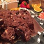 Dean Edwards gooey chocolate brownies recipe on Lorraine
