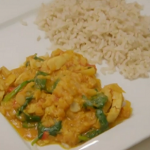 Gregg Wallace chicken with honey and lentils curry recipe on Eat Well for Less?