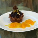 William Curley Jaffa cake tart recipe on Saturday Kitchen