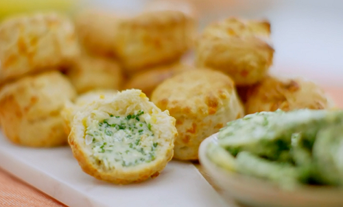 Rock Cake Recipe Jamie Oliver: Nadiya Hussain Cheese Scones With Chive Butter Recipe