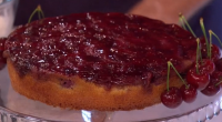 Phil Vickery served up a upside down cherry and almond cake with cream as part of his savoury or Sweet? mouthwatering cherries dishes on This Morning. The ingredients are: Soft...