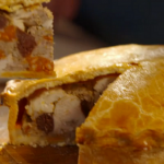 Simon Rimmer Chicken, Chorizo and Black Pudding Pie recipe Eat the Week with Iceland