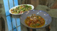 Matt Tebbutt served up lamb and apricot Cape Malay curry with couscous on Saturday Kitchen. The ingredients for the lamb marinade: 1 shoulder of lamb (approximately 1kg), diced, 1 tsp...