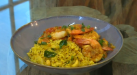Si and Dave served up South Indian prawn curry with lemon rice on Saturday kitchen. The ingredients for the curry the: 2 tbsp sunflower oil, 1 onion, finely chopped, 2...