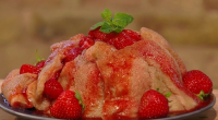 Si and Dave served up a summer pudding with raspberries and strawberries on Saturday Kitchen. The ingredients are: 500g strawberries, hulled and quartered, 500g raspberries, 175g caster sugar, 250ml Pimm's,...