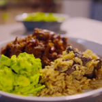 Simon Rimmer Texas chilli with dirty rice and avocados recipe on Eat the Week with Iceland