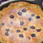 Dean Edwards blackberry tart recipe on Lorraine