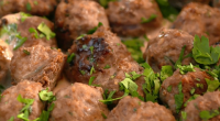 The Marks Family served up Swedish meatballs with cream sauce on The Big Family Cooking Showdown. The ingredients for the meatballs: 200g Maris Piper potatoes, peeled and cut into chunks...