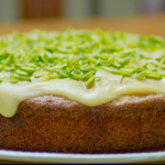 Nadiya Hussain orange scented polenta cake with Rosemary, thyme and pistachios recipe