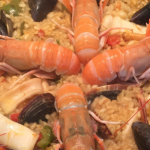 Nigel Barden Seafood Paella with alioli recipe on Radio 2 Drivetime