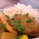 Levi Roots Caribbean coconut curry with rum recipe on This Morning