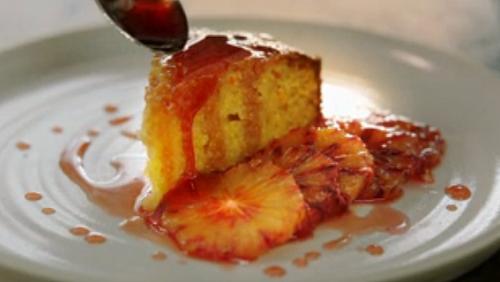 Jamie Oliver Gluten Free Almond, Blood Orange And Polenta