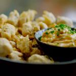 Nadiya Hussain popcorn mussels with paprika chive mayo recipe