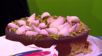Nigella Lawson showcased her gluten free and dairy free, pear, pistachio and rose cake on The One Show. The recipe is taken from Nigella's new book titled: At My Table:...
