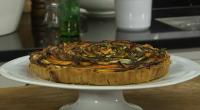 James Martin served up a roasted vegetable tart with pesto on Saturday Morning with James Martin. The ingredients for the pastry are: 250g plain flour, 150g butter, cold diced, 1...