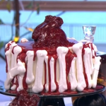 Phil Vickery beating heart cake recipe on This Morning