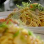 Jamie Oliver crab and fennel spaghetti recipe