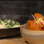 Nisha Katona Mother Butter Chicken with Spinach Emerald Rice recipe on Sunday Brunch